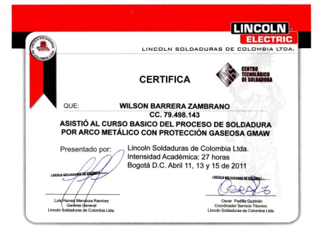 Atractivo Certificación De Soldador Colección - Cómo conseguir mi ...